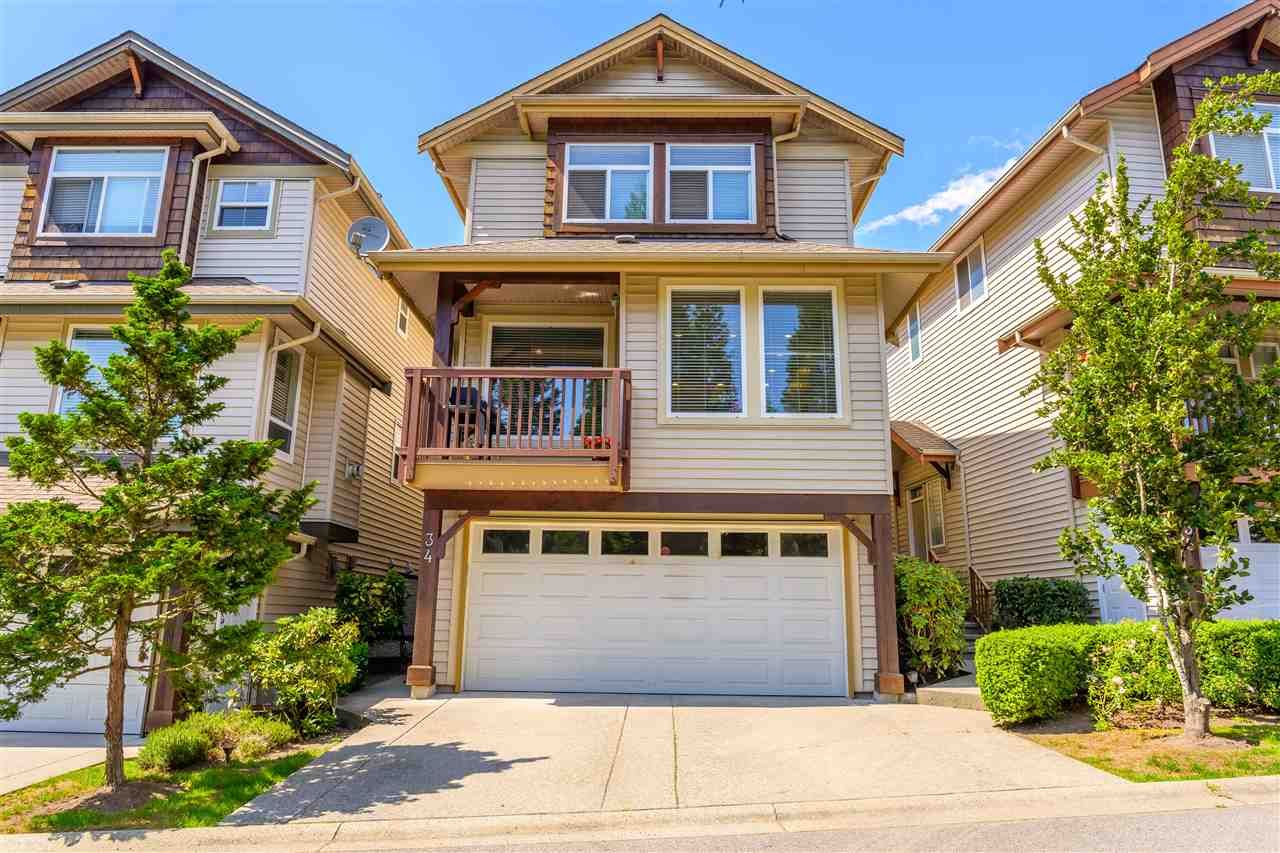 """Main Photo: 34 2387 ARGUE Street in Port Coquitlam: Citadel PQ House for sale in """"THE WATERFRONT"""" : MLS®# R2389930"""
