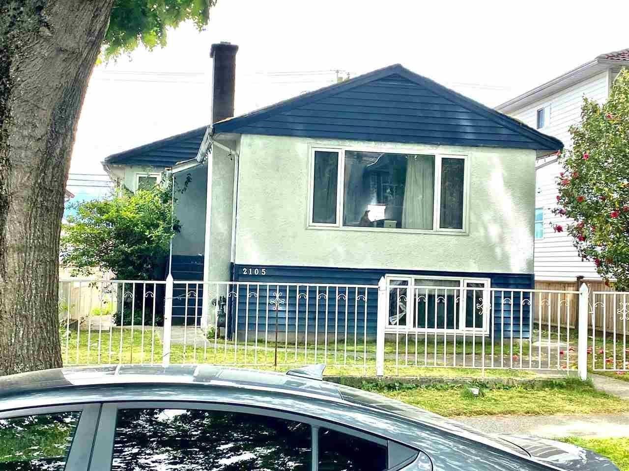 Main Photo: 2105 E 43RD Avenue in Vancouver: Killarney VE House for sale (Vancouver East)  : MLS®# R2595378