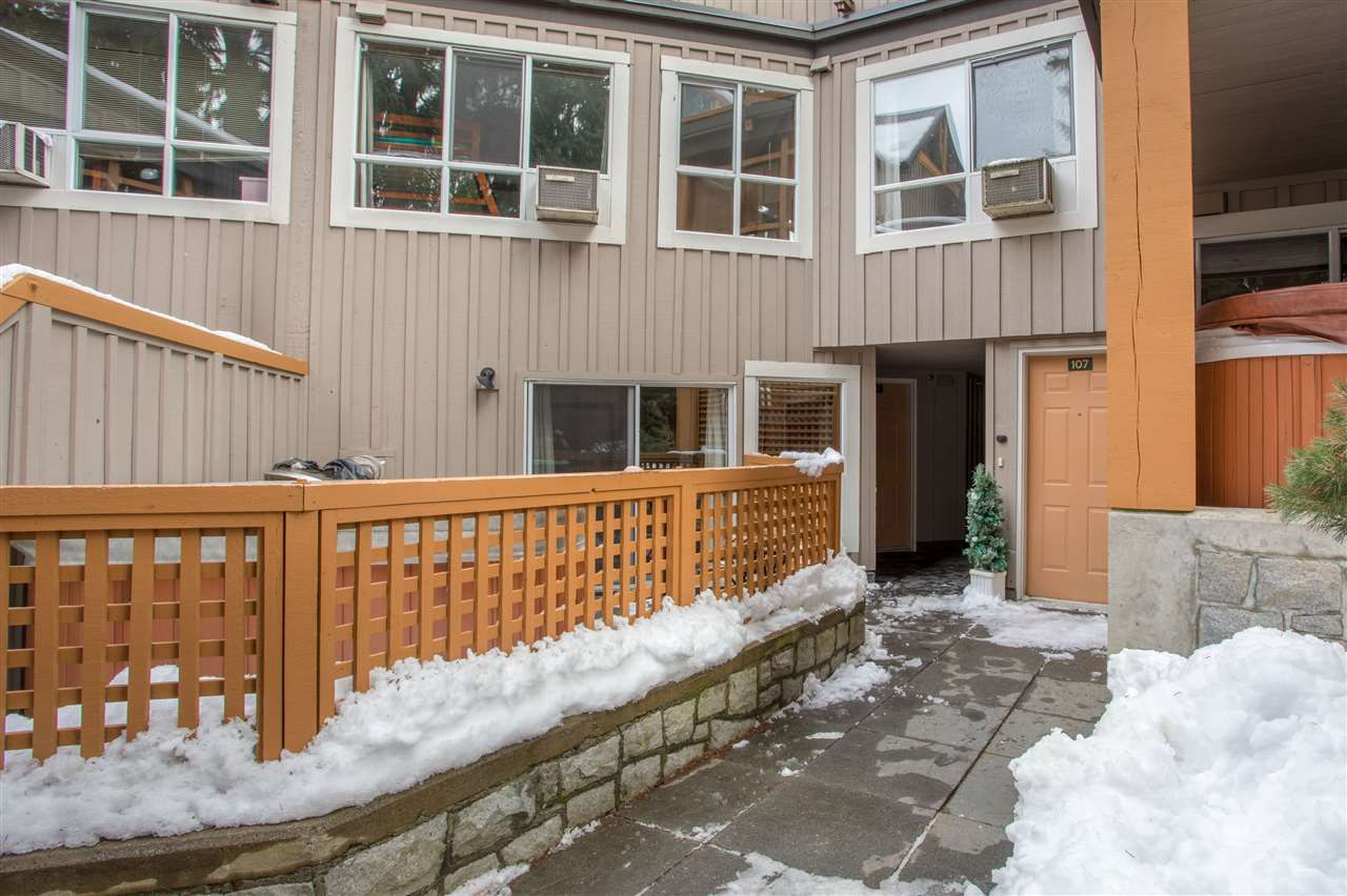 Photo 17: Photos: 109 4388 NORTHLANDS BOULEVARD in Whistler: Whistler Village Townhouse for sale : MLS®# R2249101