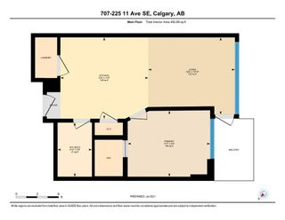 Photo 41: 707 225 11 Avenue SE in Calgary: Beltline Apartment for sale : MLS®# A1130716