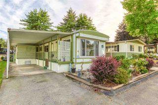 "Main Photo: 4 7850 KING GEORGE Boulevard in Surrey: East Newton Manufactured Home for sale in ""BEAR CREEK GLEN"" : MLS®# R2491097"