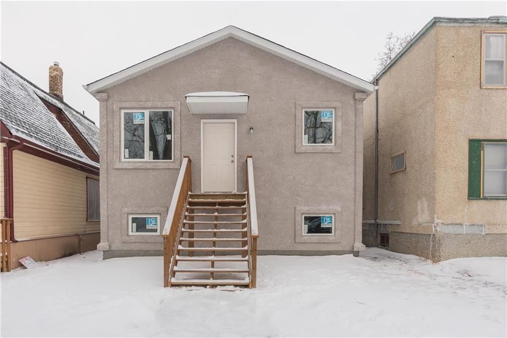Main Photo: 321 Pritchard Avenue in Winnipeg: North End Residential for sale (4A)  : MLS®# 202108666