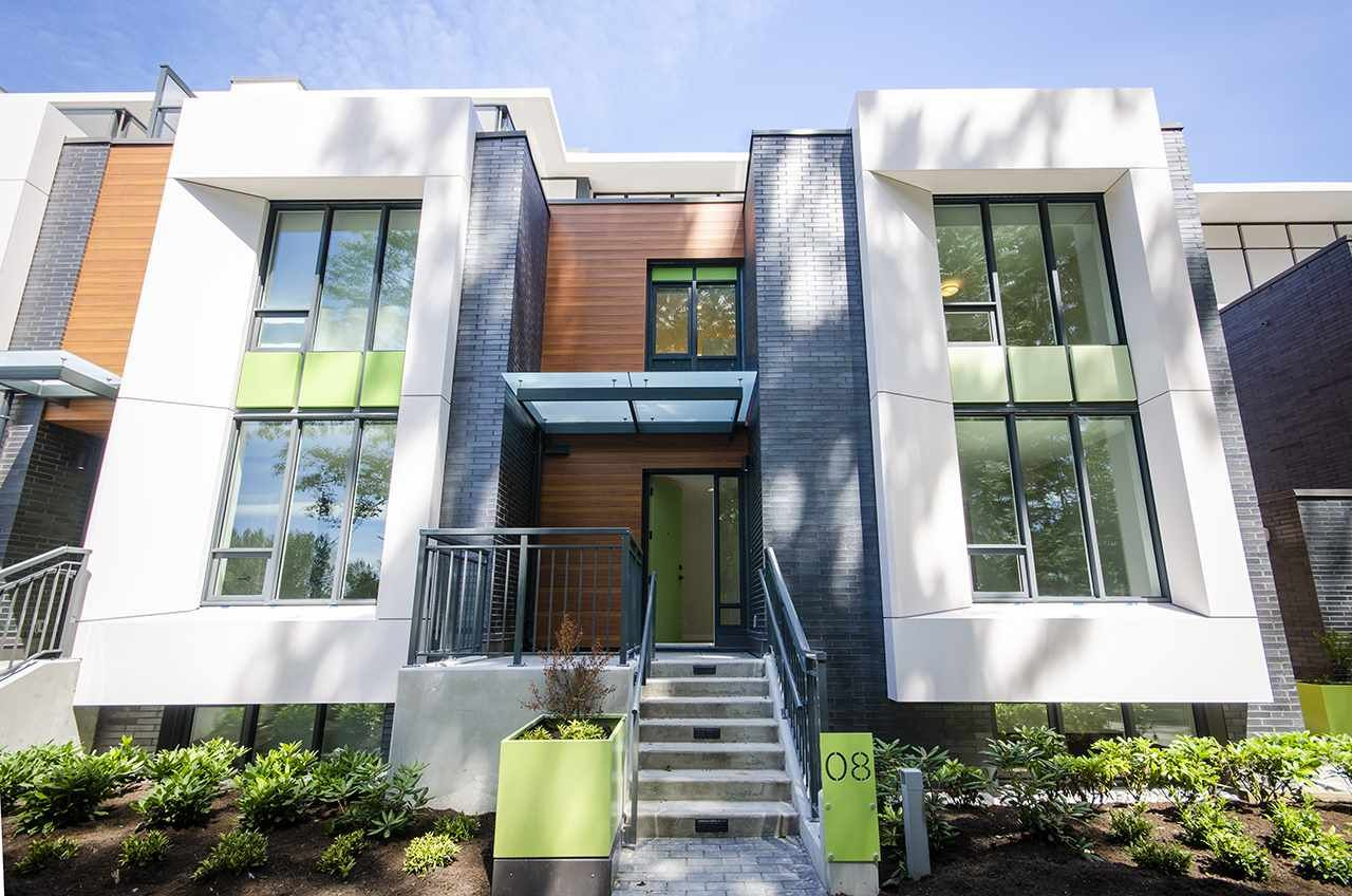 """Main Photo: 8 3483 ROSS Drive in Vancouver: University VW Townhouse for sale in """"THE RESIDENCE AT NOBEL PARK"""" (Vancouver West)  : MLS®# R2479562"""