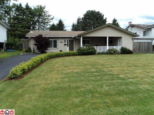 Main Photo: 32035 SCOTT AV in Mission: Mission BC House for sale : MLS®# F1213958