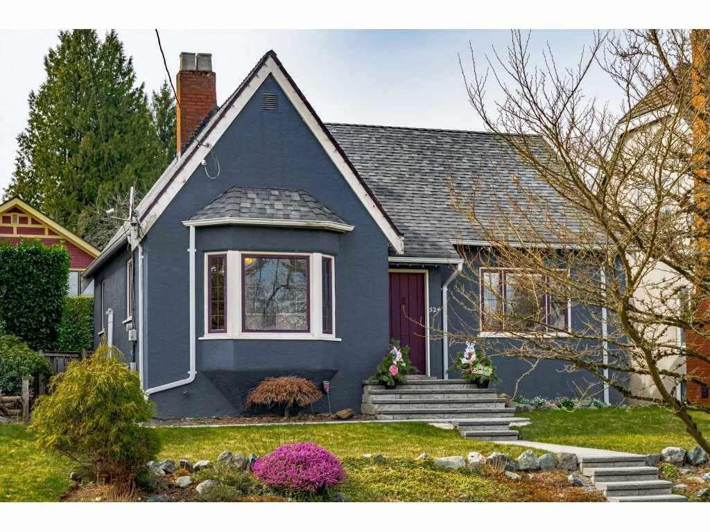 """Main Photo: 524 SECOND Street in New Westminster: Queens Park House for sale in """"QUEENS PARK"""" : MLS®# R2575575"""