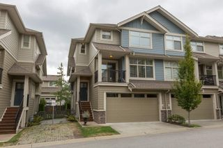 "Photo 1: 66 22225 50 Avenue in Langley: Murrayville Townhouse for sale in ""Murrays Landing"" : MLS®# R2105712"