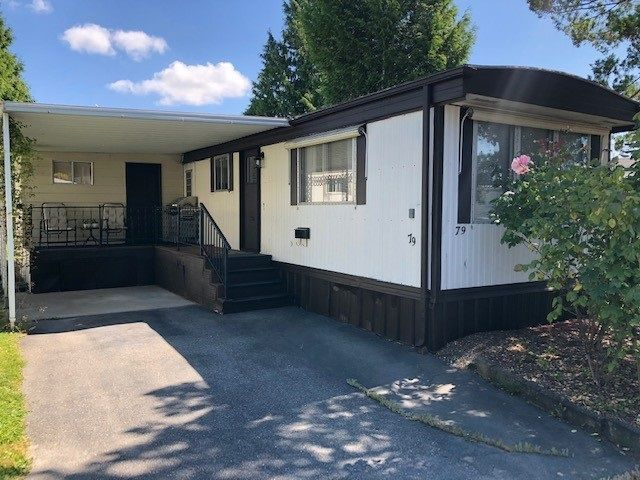 Main Photo: 79 1840 160TH Street in Surrey: King George Corridor Manufactured Home for sale (South Surrey White Rock)  : MLS®# R2479928