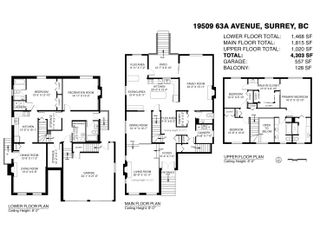 """Photo 40: 19509 63A Avenue in Surrey: Clayton House for sale in """"Clayton"""" (Cloverdale)  : MLS®# R2615260"""
