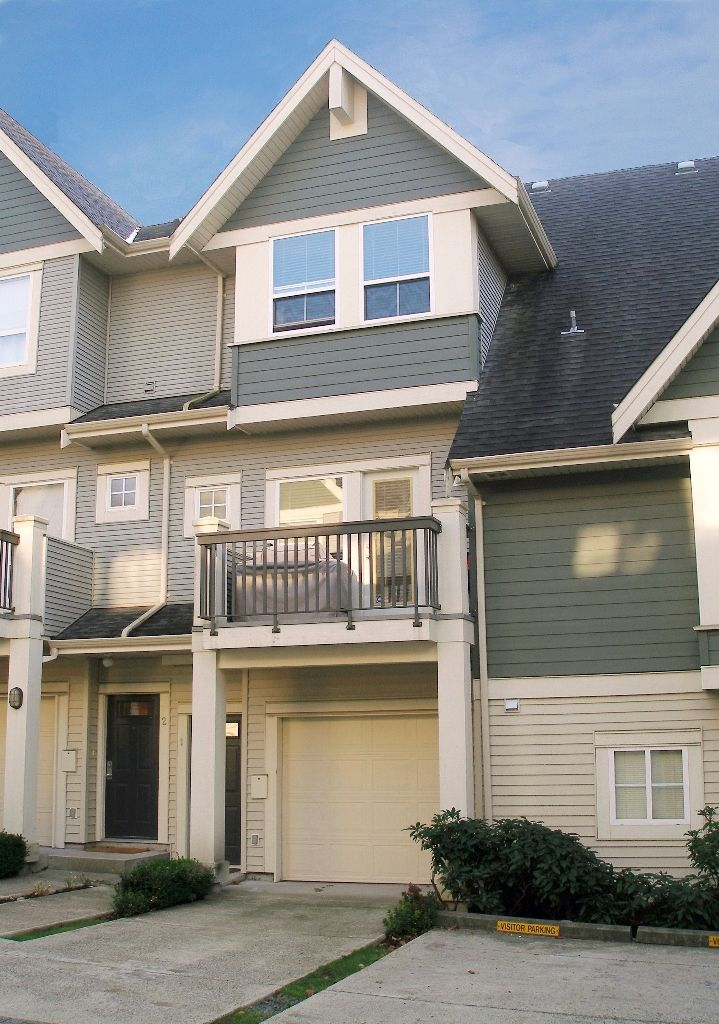 """Main Photo: 1 - 15065 58th Avenue in Surrey: Sullivan Station Townhouse for sale in """"Sprinhill"""" : MLS®# F1026512"""