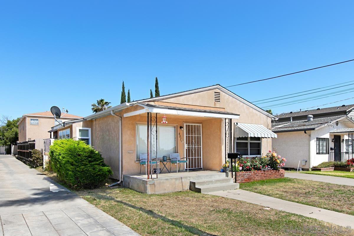 Main Photo: LA MESA Property for sale: 4867-71 Palm Ave