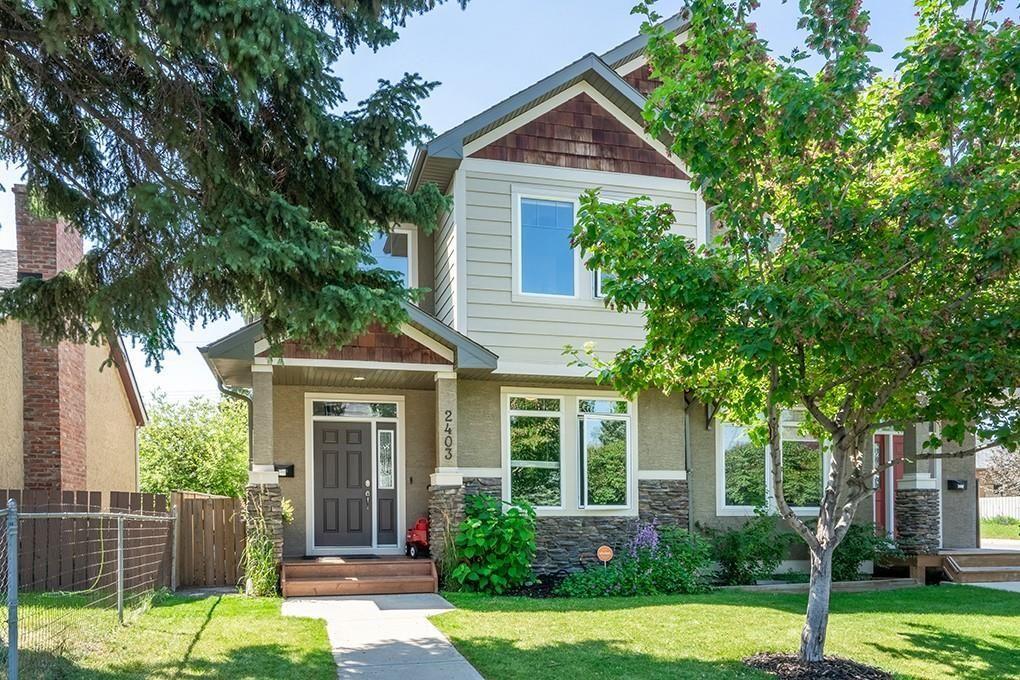 Main Photo: 2403 30 Street SW in Calgary: Killarney/Glengarry Semi Detached for sale : MLS®# C4261966