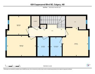 Photo 33: 628 Copperpond Boulevard SE in Calgary: Copperfield Row/Townhouse for sale : MLS®# A1104254