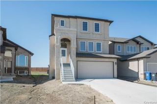 Photo 1: 155 Stan Bailie Drive in Winnipeg: South Pointe Residential for sale (1R)  : MLS®# 1713567