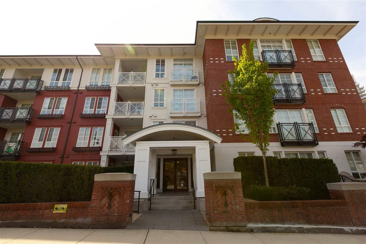 Main Photo: 318 618 COMO LAKE AVENUE in : Coquitlam West Condo for sale : MLS®# R2347565