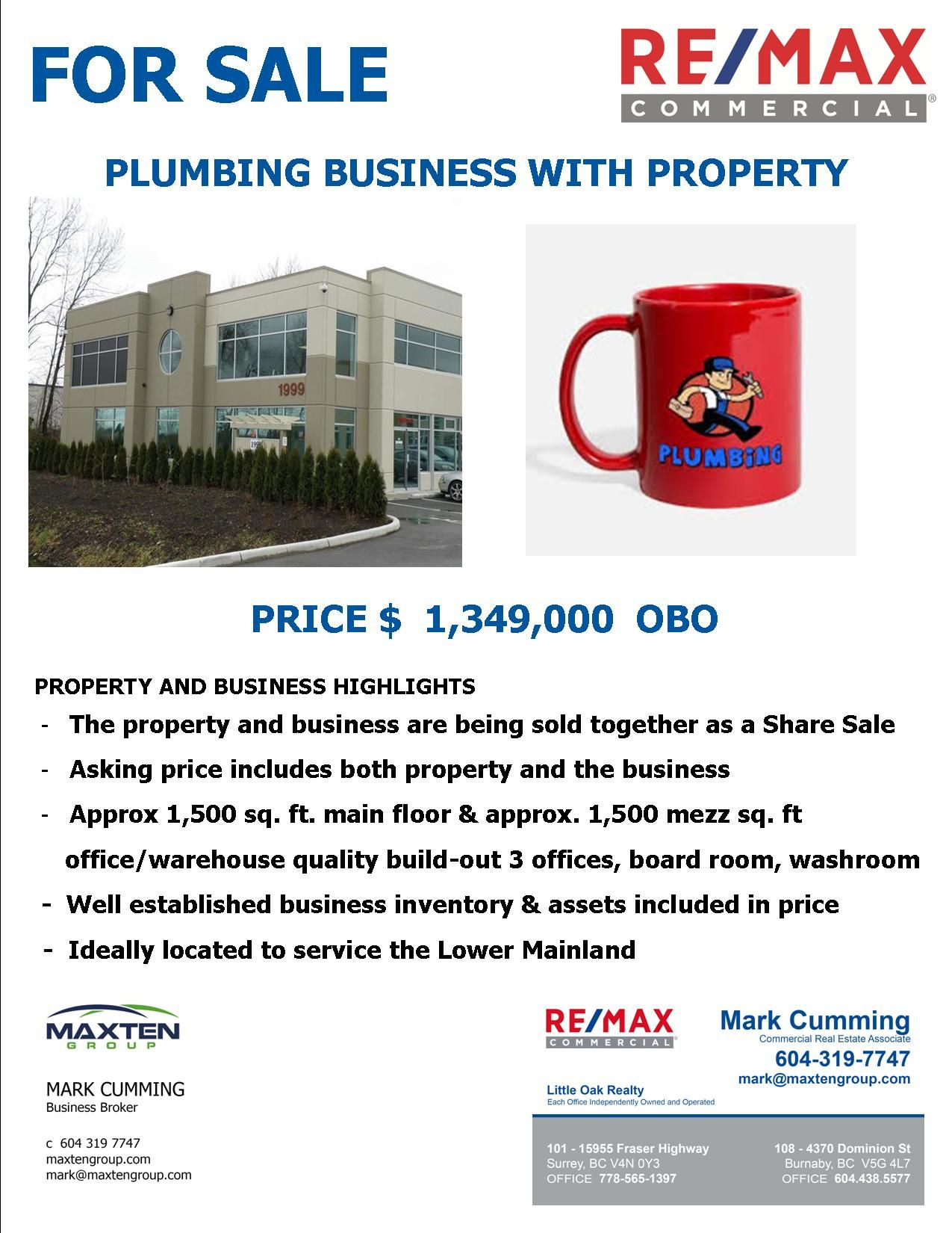 Main Photo: ~ Business with Property: Business with Property for sale : MLS®# C8028345