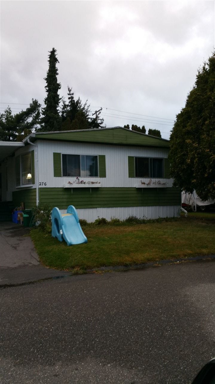 """Main Photo: 276 1840 160 Street in Surrey: King George Corridor Manufactured Home for sale in """"Breakaway Bays"""" (South Surrey White Rock)  : MLS®# R2132804"""