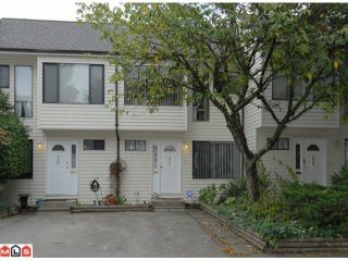 """Photo 1: 69 9368 128TH Street in SURREY: Queen Mary Park Surrey Townhouse for sale in """"SURREY MEADOWS"""" (Surrey)  : MLS®# F1302023"""