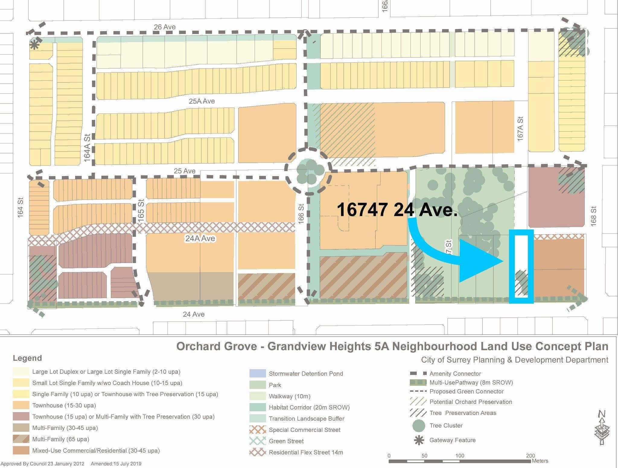 Main Photo: 16747 24 Avenue in surrey: Grandview Surrey Land for sale (South Surrey White Rock)