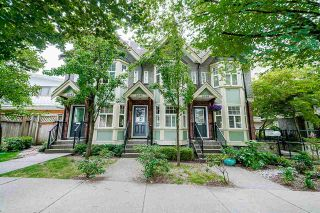 """Photo 2: 1644 E GEORGIA Street in Vancouver: Hastings Townhouse for sale in """"The Woodshire"""" (Vancouver East)  : MLS®# R2480572"""