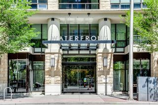 Photo 1: 547 222 Riverfront Avenue SW in Calgary: Chinatown Apartment for sale : MLS®# A1136653